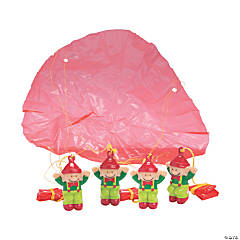 Christmas Elf Paratroopers