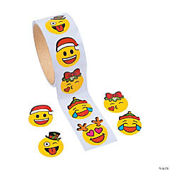 Christmas Emoji Stickers