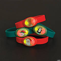 Christmas Flashing Bracelets