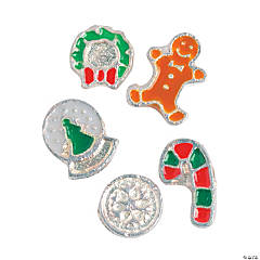 Christmas Floating Charm Assortments - 5mm