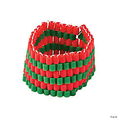 Christmas Fuse Bead Bracelet Craft Kit