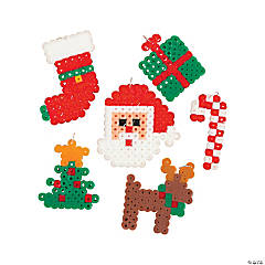Christmas Fuse Bead Charms