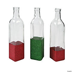 Christmas Glitter Bottles Idea