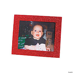 Christmas Glitter Picture Frames