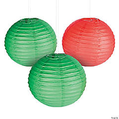 Christmas Hanging Paper Lanterns