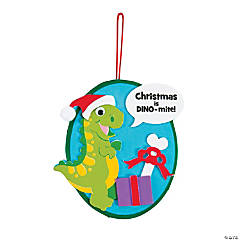 Christmas is Dino-mite Ornament Craft Kit