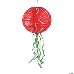 Christmas Lanterns with Fringe