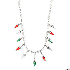 Christmas Light Bulb Necklace Craft Kit
