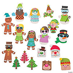 Christmas Magnet Craft Kit Assortment