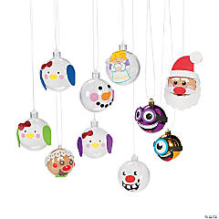 Christmas Ornament Decorating Craft Kit Assortment