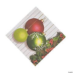Christmas Ornament Luncheon Napkins