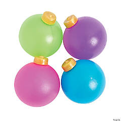 Christmas Ornament Splat Balls