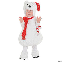 Christmas Polar Bear Costume for Toddlers