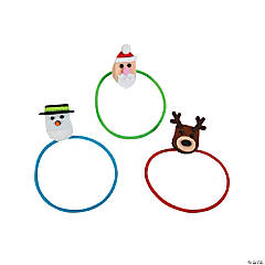 Christmas Puffball Hair Ties