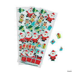 Christmas Puffy Stickers