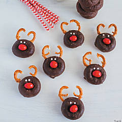 Christmas Reindeer Mini Donuts Recipe