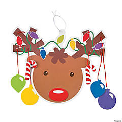Christmas Reindeer Mobile Craft Kit