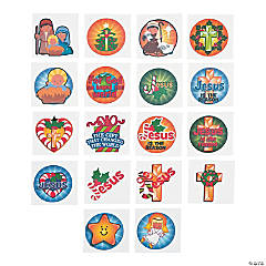 Christmas Religious Tattoo Assortment