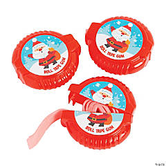 Christmas Roll Tape Gum