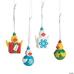 Christmas Rubber Ducky Ornaments