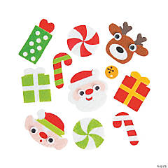 Christmas Self-Adhesive Shapes
