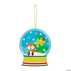 Christmas Snowglobe Ornament Craft Kit