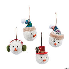 Christmas Snowman Ornaments