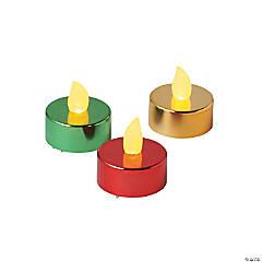 Christmas Sparkle Battery-Operated Tea Lights
