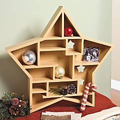 Christmas Star Shadow Box