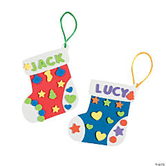 Christmas Stocking Ornament Craft Kit
