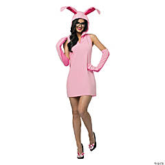 Christmas Story Bunny Costume Dress for Women