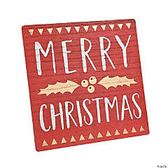 Christmas Tabletop Sign
