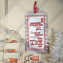 Christmas Tag Sign Idea