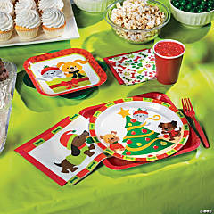 Christmas Tails Party Supplies