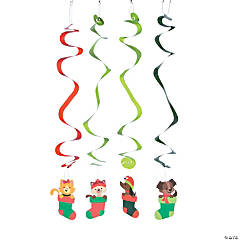 Christmas Tails Swirls