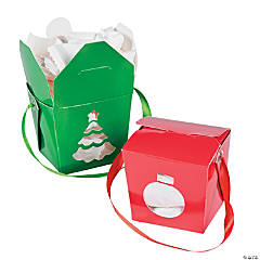 Christmas Take Out Boxes