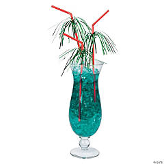 Christmas Tinsel Straws
