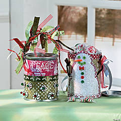 Christmas Treat Buckets Idea