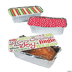 Christmas Treat Containers with Lids