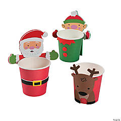 Christmas Treat Cup Huggers Craft Kit