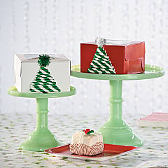 Christmas Tree Cupcake Box Idea