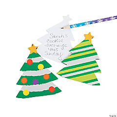 Christmas Tree Foil Notepads