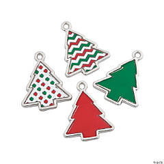 Christmas Tree Patterns Charms