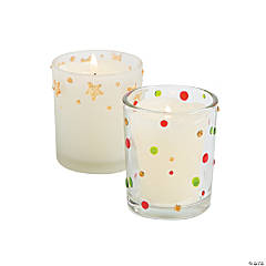Christmas Votive Candleholders Idea