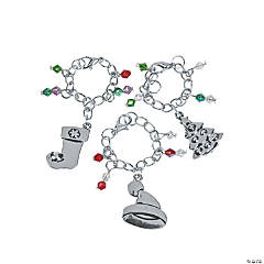Christmas Wine Charms Craft Kit