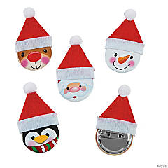 Christmas Wishes Buttons