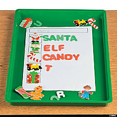 Christmas Word Building Activity Idea