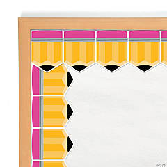 Chunky Pencils Bulletin Board Borders