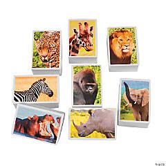 Chunky Realistic Safari Erasers