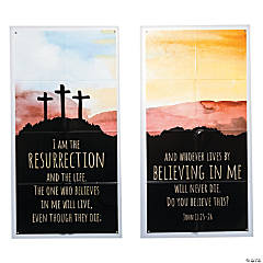Church Resurrection Banner Set